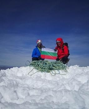 Първо българско изкачване на Серо Торе!
