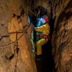 Ефи - една от изследователките на пещерата. Снимка Александър Лазаров